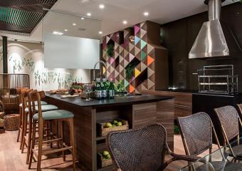 Polo Design Show, Varanda Gourmet, 2014, 42m²,  São Bernardo do Campo